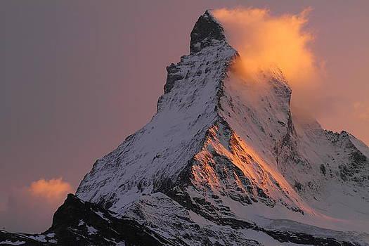 Matterhorn at sunset by Jetson Nguyen