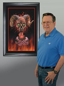 Me and Hell's Heart art by Harold Shull