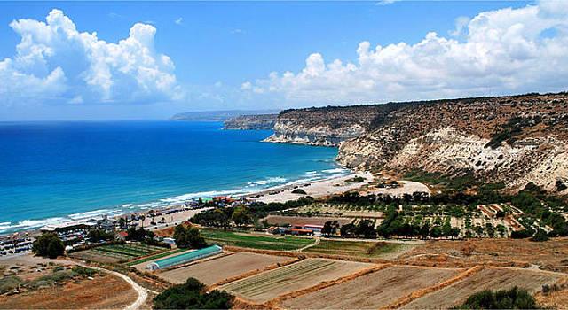 Mediterranean coast by Ivelina Angelova