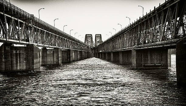 Mercier Bridge by Ron Harris