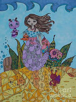 Mermaids and Sea Creatures by Alexandra Benson
