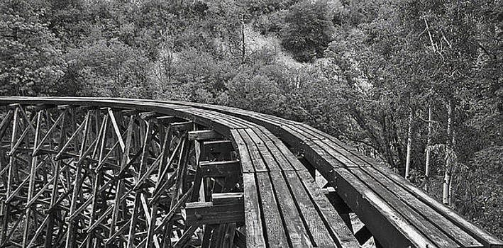 Mexican Canyon Trestle by Bob Bailey