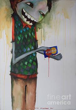 Monster Card by Awan Yozeffani