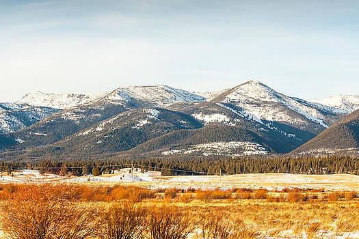Montana Mountain View 2 by Paul Bartoszek