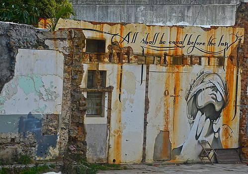 Mural Graffiti by Dorota Nowak