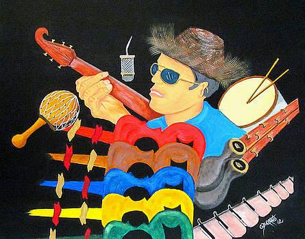 Musical Man by Gloria E Barreto-Rodriguez