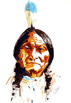 Native American Indian by Steven Ponsford