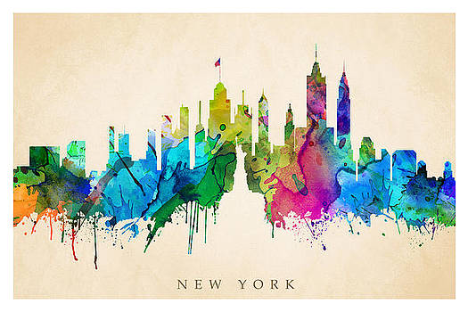 New York Cityscape by Steve Will