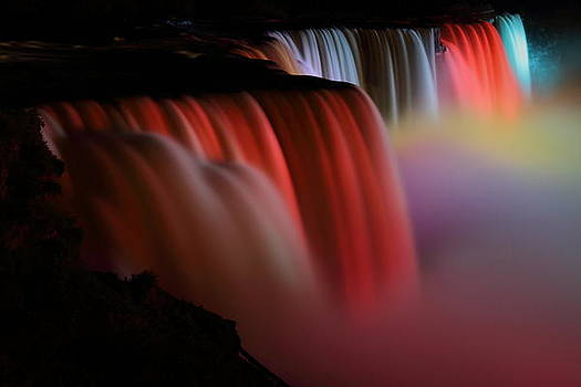 Niagara falls in a sea of color by Jetson Nguyen