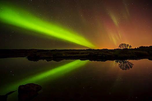 Northern Lights by Petur Mar Gunnarsson