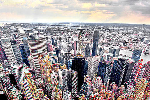 NYC From Above by Suzanne Barber
