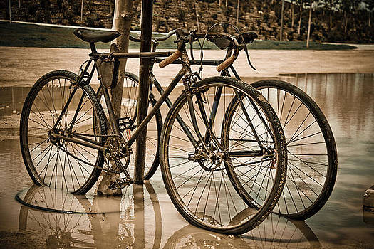Old Bicycles by Amador Esquiu Marques