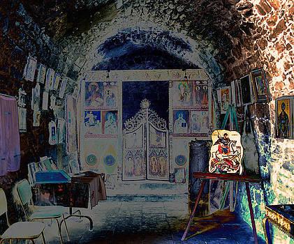 Old Chapel interior by Ivelina Angelova