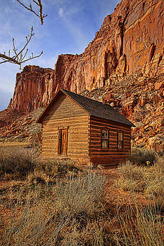 One Room Schoolhouse by Rick Lewis