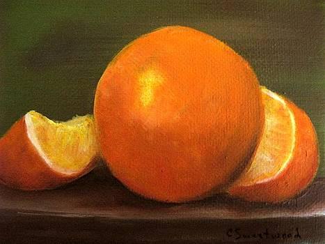 Oranges by Carol Sweetwood