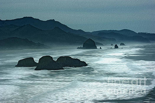 Oregon Cannon Beach by Nur Roy