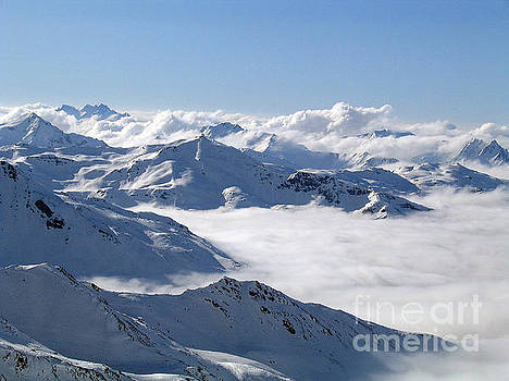 Over the clouds by Angela Kail