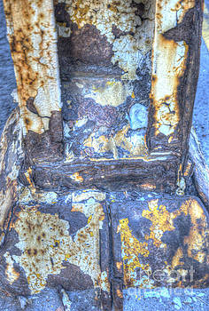 Paint and rust 14 by Jim Wright