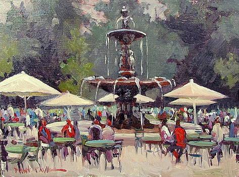 Park St Cafe by Dianne Panarelli Miller