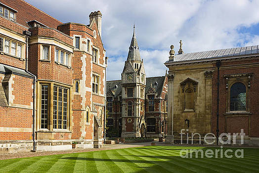 Pembroke College in Cambridge by Kiril Stanchev