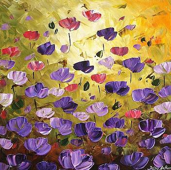 Poppis In Purple by Jolina Anthony