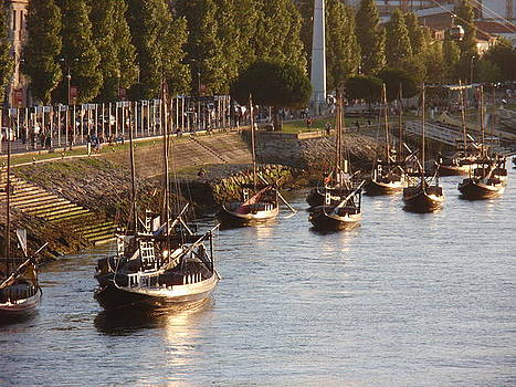 Porto riverfront on Douro River by Ivana Smiljanec