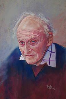 Portrait of Hubert Miller by Lynda Robinson