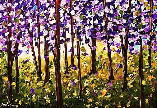 Purple Dreams by Jolina Anthony