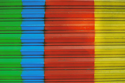 Rainbow Shutter by Howard Dratch