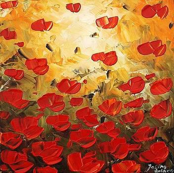 Red Poppis by Jolina Anthony