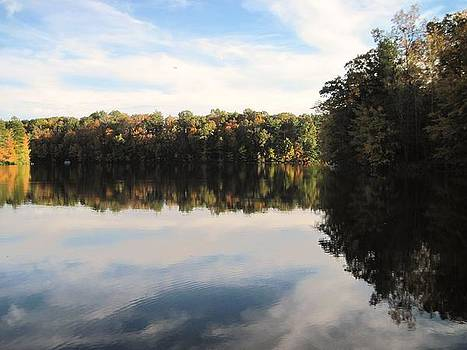 Reflections on the Lake by Vicki Kennedy