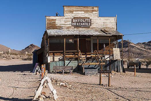Rhyolite Mercantile by Muhie Kanawati