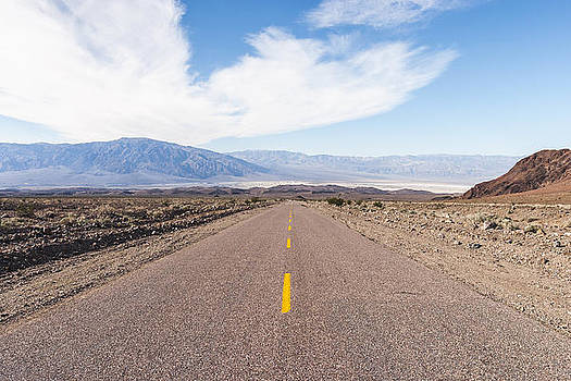 Road to Death Valley by Muhie Kanawati
