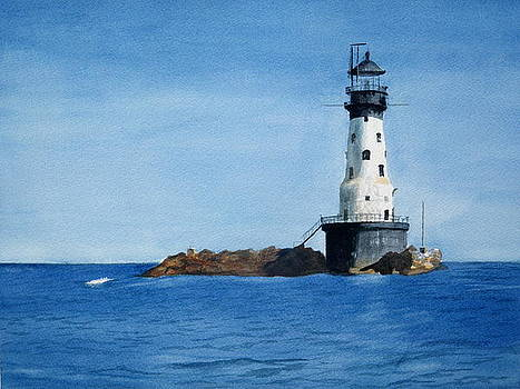 Rock of Ages Lighthouse by Lisa Pope