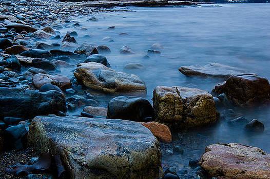 Rocky Shore by Kaye Seaboch