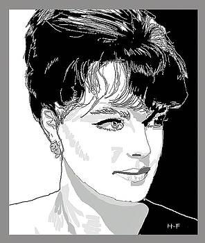 Romy Schneider by Herbert French