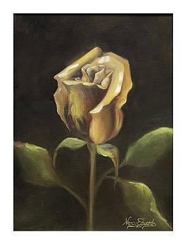Royal Gold Bud by Nancy Edwards