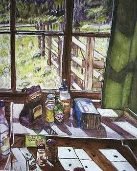 Rustic Ranch Kitchen  by Carol Warner