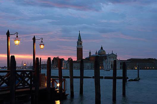 San Giorgio Maggiore just before dawn  by Kiril Stanchev
