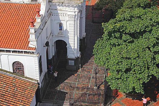 Santa Ana Church Detail by Juan Correa