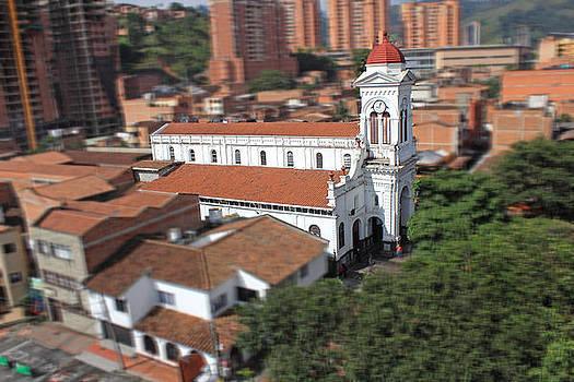 Santa Ana Church Miniature by Juan Correa