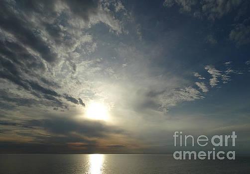 Serenity Sunset by Joseph Baril