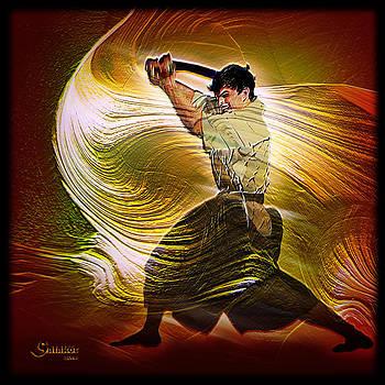 Seth Boyette Action Portrait by Salakot