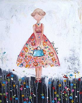 Shopping Girl by Jolina Anthony
