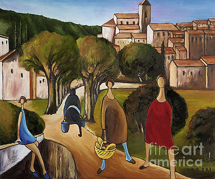 Slice Of Life 2 Provence by William Cain