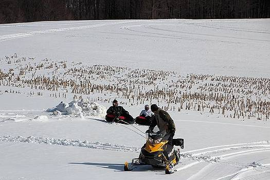 Snow fun by Gary Pavlosky