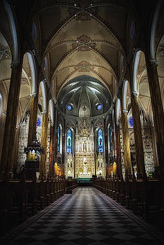 St. Patrick's Basilica by Ron Harris