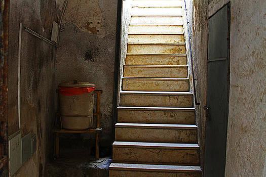 stairway in Israel by Karl Gebhardt