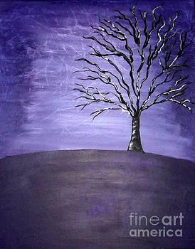 Standing Alone Tree by Susan Wahlfeldt