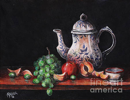 Still Life With Fruit by Rita Miller